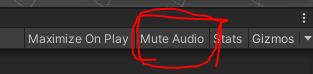 Mute Audioボタン